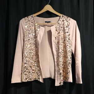 The Gap Glittery Blazer